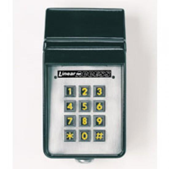 Linear AKR-1 Exterior Digital Keypad with Radio Receiver