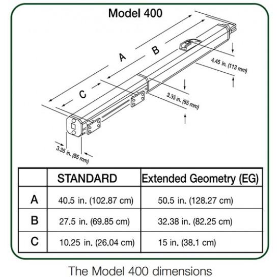 FAAC 400 CBAC Single Gate Opener